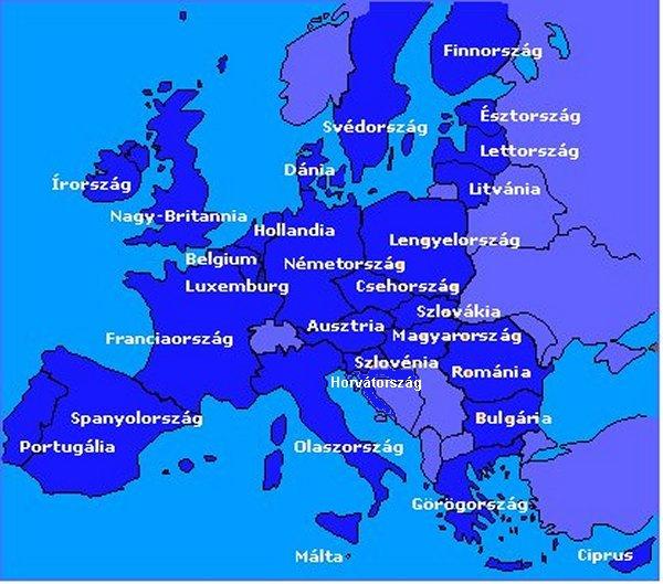 magyarország litvánia térkép EU térkép magyarország litvánia térkép