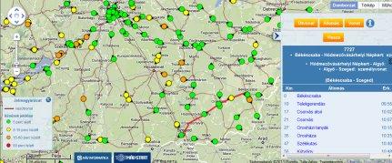 elvira térkép MÁV menetrend 2007, 2008, 2009, 2010,2011,2012,2013,2014,2015,2016  elvira térkép