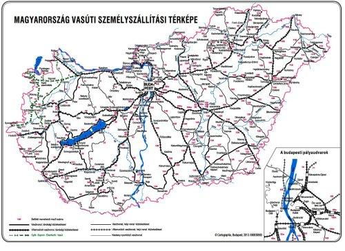 vasúti térkép magyarország 2013 Vasút, Vasútak, Kisvasút, MÁV, Rail Cargo,Magánvasút  vasúti térkép magyarország 2013